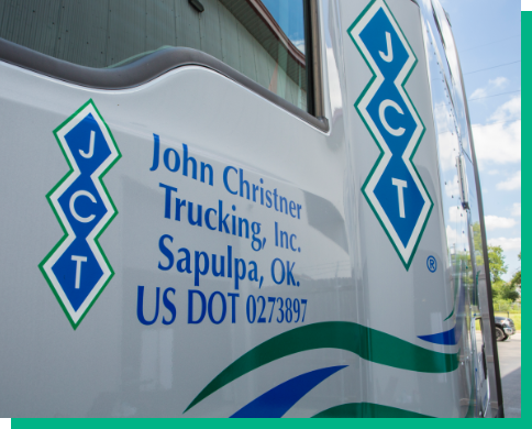 close up image of john christner truck